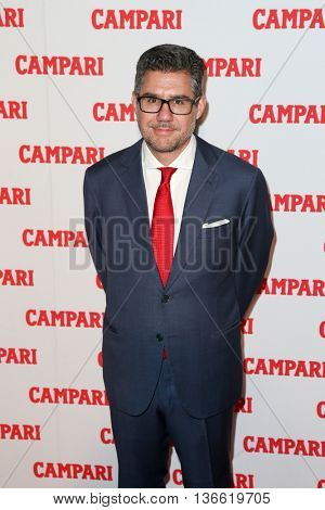 NEW YORK-NOV 18: Gruppo Campari CEO Bob Kunze-Concewitz attends the 2016 Campari Calendar Launch Event at The Standard Hotel on November 18, 2015 in New York City.