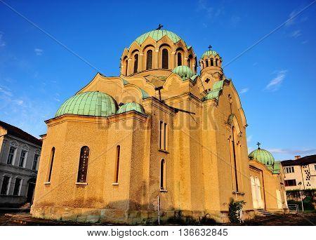 Patriarchal orthodox Cathedral of the Holy Ascension of God Veliko Tarnovo Bulgaria