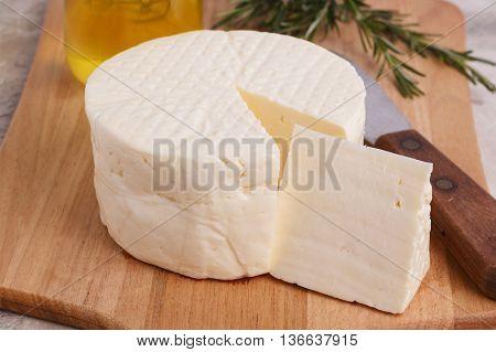 Wheel Of Brazilian Traditional Cheese Minas