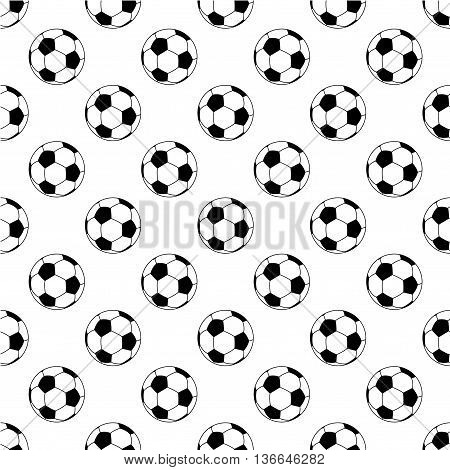 Seamless football pattern, background, vector illustration, eps 10