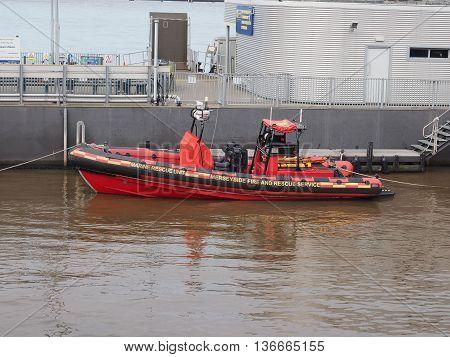 Marine Rescue Unit In Liverpool