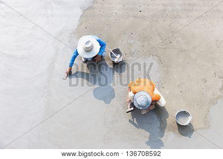 Floor Plaster Cement