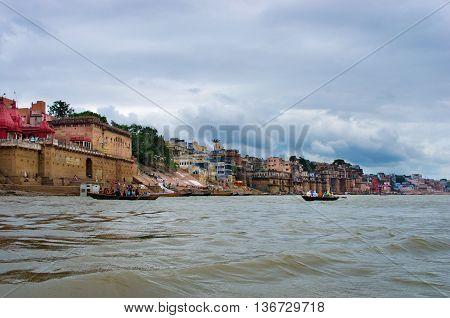 Holy City  Varanasi In India