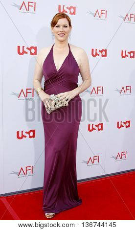 Molly Ringwald at the 36th AFI Life Achievement Award held at the Kodak Theater in Hollywood, USA on June 12, 2008.