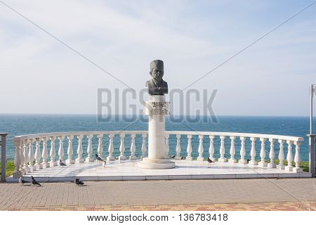 Anapa, Russia - March 10, 2016: Monument In Honor Of The Honored Doctor Of Russia Vladimir N. Avanes