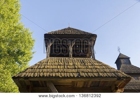 The Roof Of The Old Wooden Church