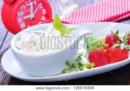 Cottage With Strawberry