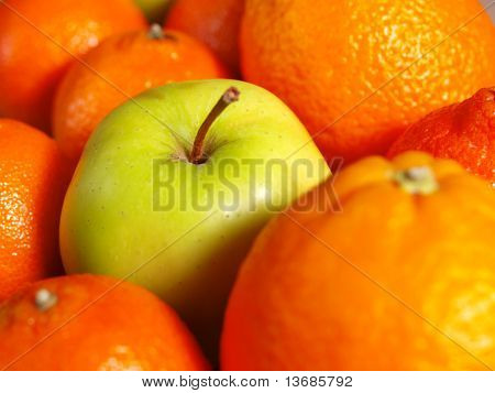 Apple Among Oranges