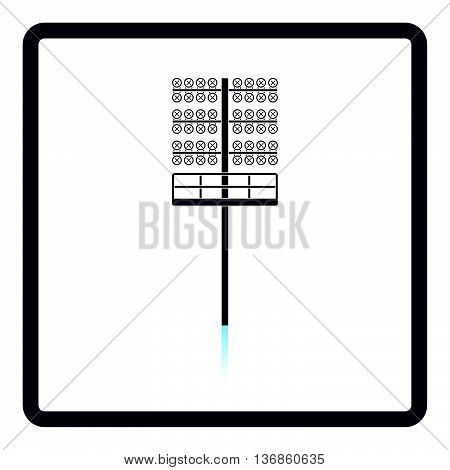 Icon Of Football  Light Mast