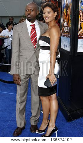 Romany Malco at the Los Angeles premiere of 'The Love Guru' held at the Grauman's Chinese Theater in Hollywood, USA on June 11, 2008.