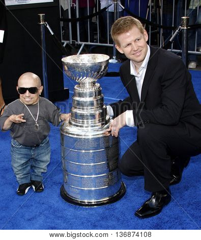 Verne Troyer at the Los Angeles premiere of 'The Love Guru' held at the Grauman's Chinese Theater in Hollywood, USA on June 11, 2008.