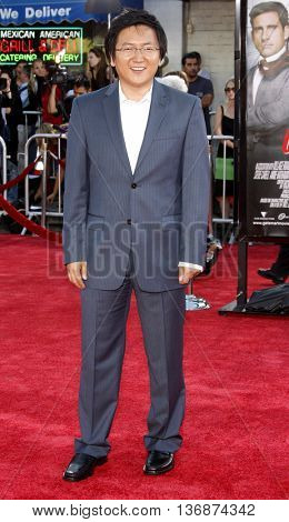 Masi Oka at the World premiere of 'Get Smart' held at the Mann Village Theater in Westwood, USA on June 16, 2008.