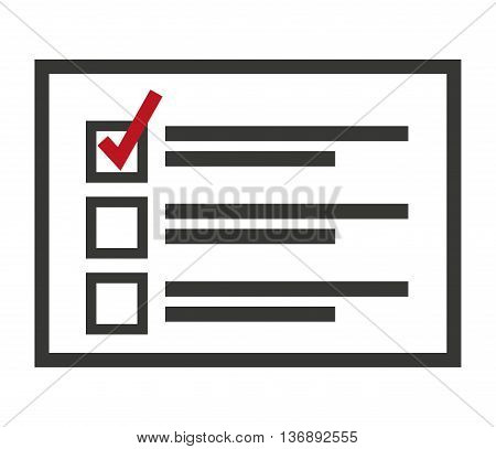 electoral Card isolated icon design, vector illustration  graphic