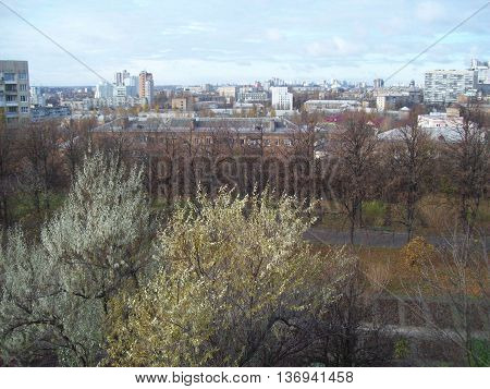 The city of Kiev the capital of Ukraine architecture attractions buildings