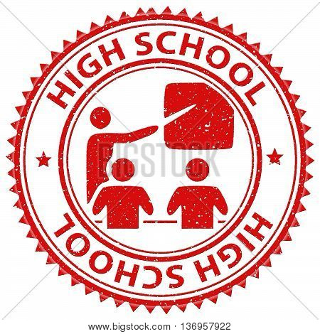 High School Indicates Eleventh Grade And Learning