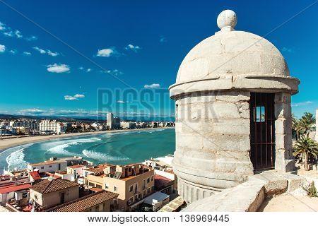 Peniscola Coastline, Spain