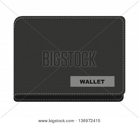 wallet money isolated icon design, vector illustration  graphic