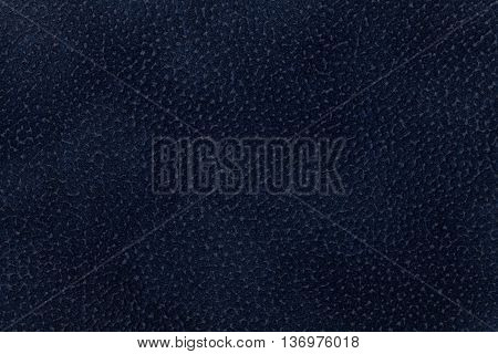 Background of dark blue fabric flock decorated with a coat of the animal. Lint-free cloth suede.