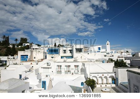 Sidi Bou Said Architecture