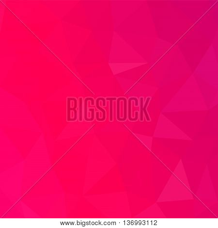 Abstract polygonal vector background. Background consisted of hexagon and rectangle elements. Multi-color geometric low poly style. Polygonal template design for your artwork.