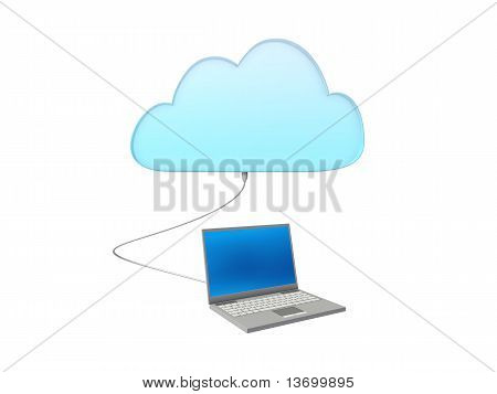Cloud computing with a notebook
