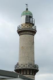 Lighthouse in Warnemunde