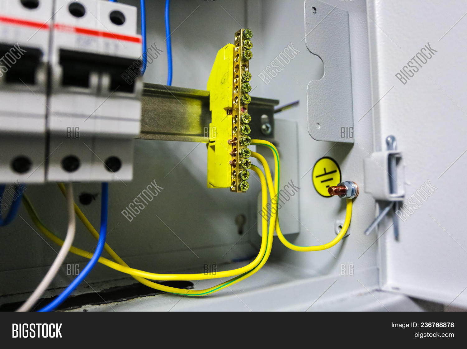 Electrical Yellow Image & Photo (Free Trial) | Bigstock