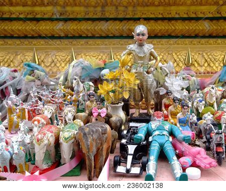 Kuman Thong  Is A Household Divinity Of Thai Popular Religion. It Is Believed To Bring Luck And Fort