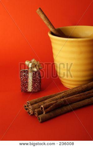 Saison Weihnachten Getränke