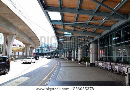 Macau, China- 07 Apr, 2018: Macau International Airport. Macau International Airport Is An Internati