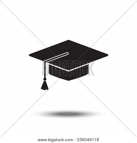Attributes Of The Student Web Icon. Vector Design