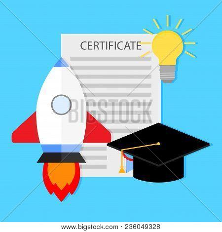 Start Learning University And Development. Start Development, Education In University, Science And I