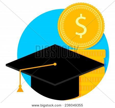 Scholarship And Study Grant. University Finance Degree, Study Scholarship Grant, Vector Illustration