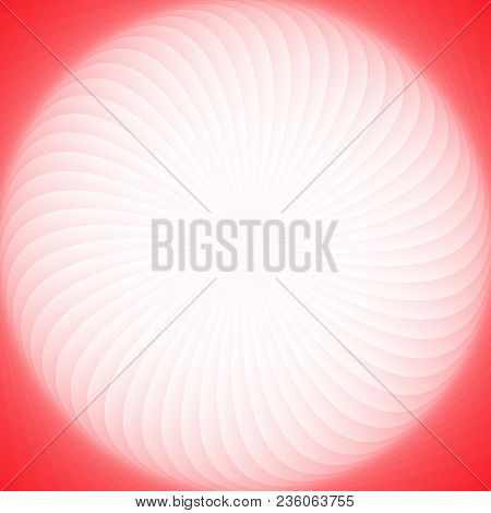 Abstract Geometrical Spiral Stripe Background - Gradient Vector Graphic Design