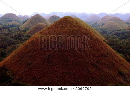 A Brown Chocolate Hill Philippines