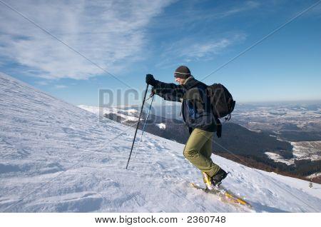 Men In Snow Shoes
