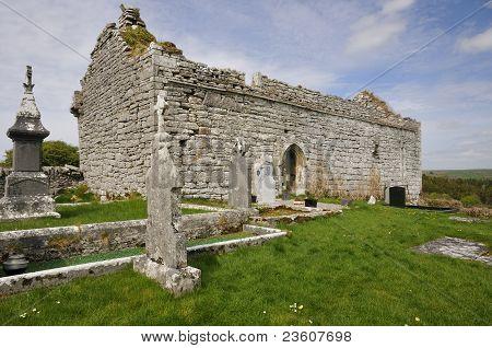 13th century Carron Church