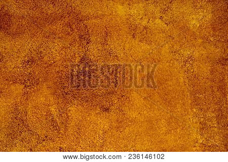 Brown Background Paper With Vintage Grunge Background Texture With Black Scuffed Edges And Old Faded