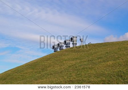 Pipes On A Hill