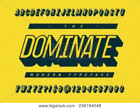 Dominate Font 3d Vector & Photo (Free Trial)   Bigstock