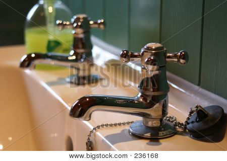 Basin, Taps & Soap