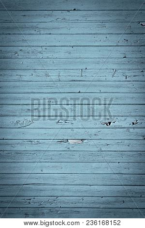 Blue Gray Old Wood Background Texture Background