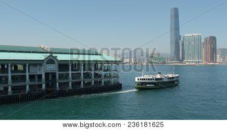 Central, Hong Kong, 09 March 2018:- Hong Kong Victoria harbour