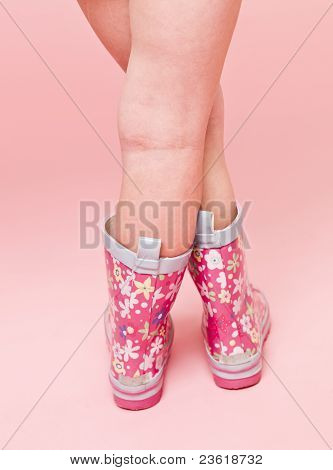 Girl With Boots