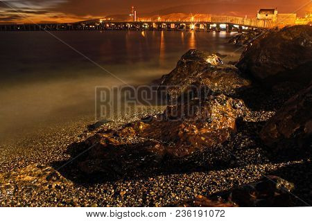 Beach During Night, Long Exposure Photography Technique