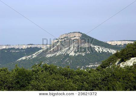 Crimean Mountains (tepe-kerman)