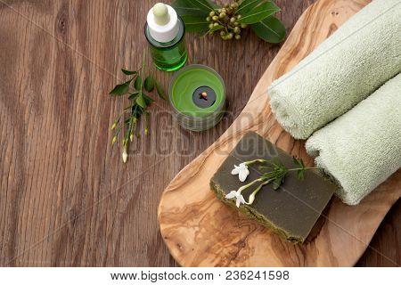 Handmade Organic Soap And Organic Oil
