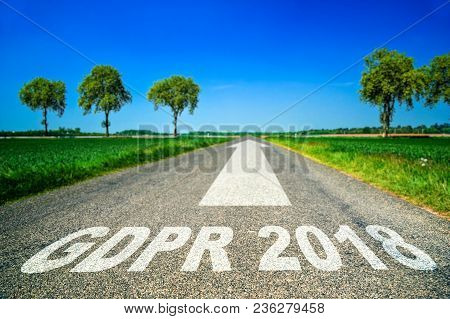 Road Concept With The Words