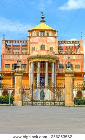 Palermo, Italy - September 26, 2005:  Sicily Island, The Chinese Building (the Palazzina Cinese) In