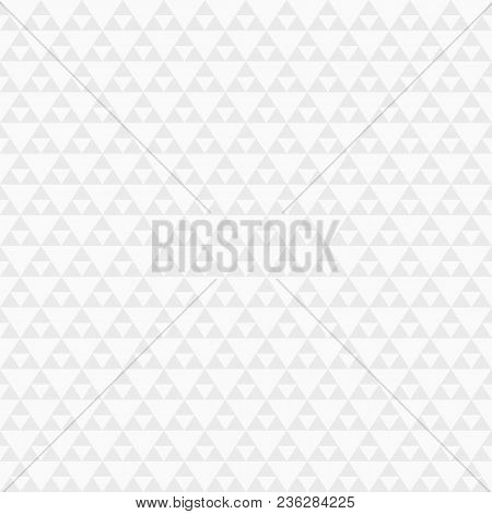 Abstract Geometric Seamless Pattern Of Triangles. Modern Stylish Texture. Repeating Geometric Tiles.
